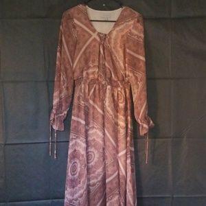 Maxi Dress W/Slit